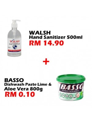 Walsh Hand Santizer 500ml Set E