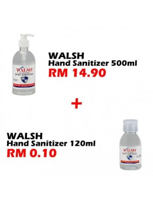 Walsh Hand Santizer 500ml Set F