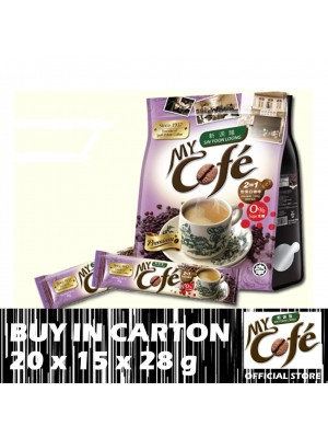My Cofe 2 in 1 Ipoh White Coffee 20 x 15 x 28g