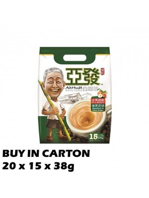 Ah Huat White Coffee Hazelnut & Cane 20x15x38g