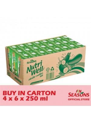 F&N Seasons Winter Melon 4 x 6 x 250ml