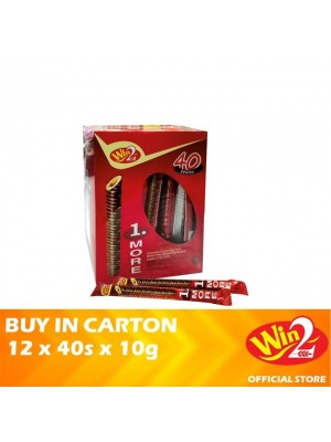 WinWin 1.More Chocolate Coated Egg Roll 12 x 40s x 10g