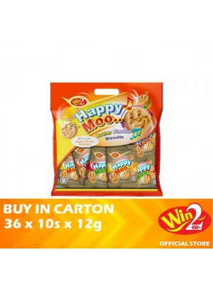 WinWin Happy Moo Butter Flavour Biscuits 36 x 10s x 12g