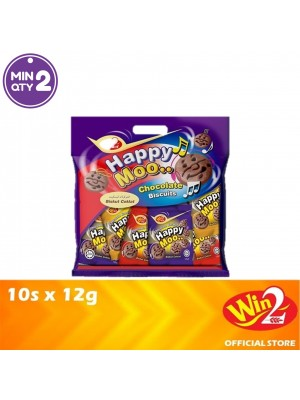WinWin Happy Moo Chocolate Biscuits 10s x 12g