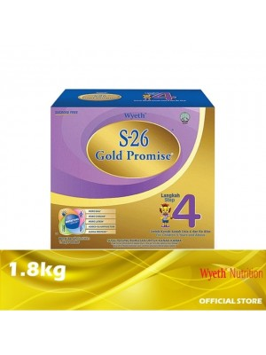 Wyeth S-26 Gold Promise Step 4 Milk Powder 1.8kg