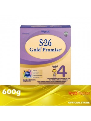 Wyeth S-26 Gold Promise Step 4 Milk Powder 600g