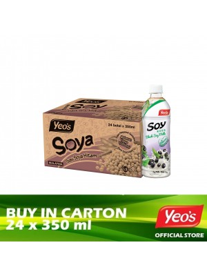 Yeo's Black Soya PET 24 x 350ml