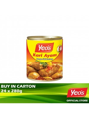 Yeo's Curry Chicken with Potatoes 24x280g