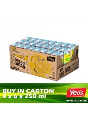 Yeo's Iced Tea Lemon 4 x 6 x 250ml