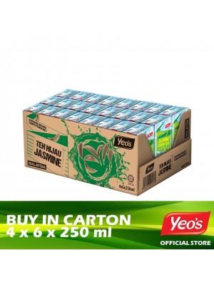 Yeo's Jasmine Green Tea 4 x 6 x 250ml