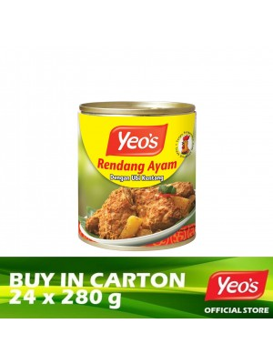 Yeo's Rendang Chicken with Potatoes 24 x 280g