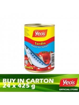 Yeo's Sardine in Tomato Sauce 24 x 425g