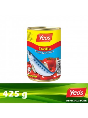 Yeo's Sardine in Tomato Sauce 425g