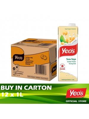 Yeo's Soy Bean Milk Combi 12 x 1L