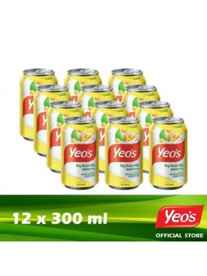 Yeo's Soya Bean CD 12 x 300ml [LCD]