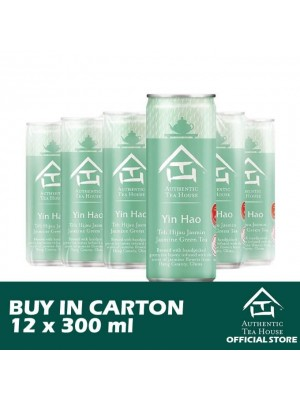 Authentic Tea House Yin Hao Jasmine Green Tea 12 x 300ml