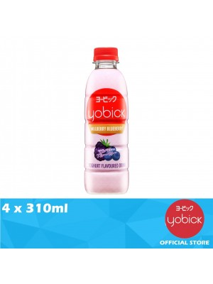Yobick Yogurt Drink Mulberry Blueberry Flavour 4 x 310ml