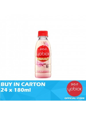 Yobick Yogurt Drink Sakura Flavour 24 x 180ml