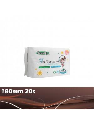 Young Girl Antibacterial Pantyliner 180mm 20s