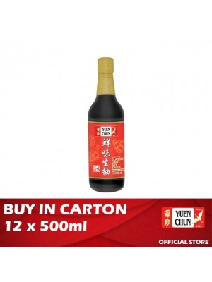 Yuen Chun Classic Light Soy Sauce 12 x 500ml