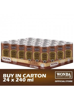 Wonda Zero Max Original 24 x 240ml