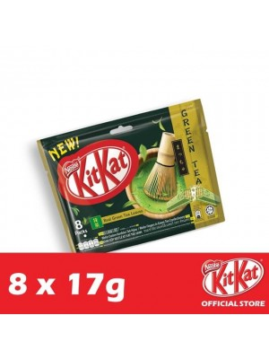 Nestle KitKat 2-Fingers Green Tea 8 x 17g
