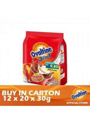 Ovaltine 3 in 1 Original Taste 12 x 20s x 30g