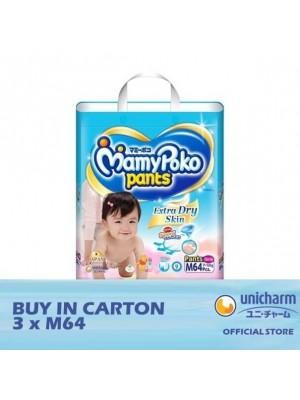 MamyPoko Pants Extra Dry Skin Girl 3 x M64