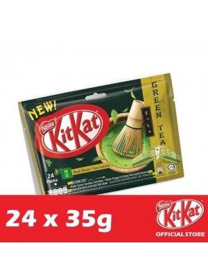 Nestle KitKat 4-Fingers Green Tea Flowrap 24 x 35g