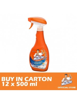 Mr. Muscle 5 in 1 Bathroom Cleaner 12 x 500ml