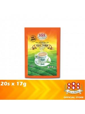 888 3 in 1 Instant Milk Tea Teh Tarik 20s x 17g
