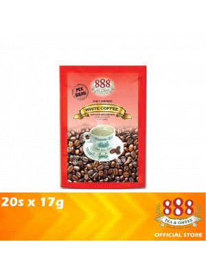 888 3 in 1 Instant White Coffee 20s x 17g