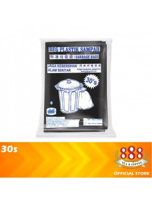 888 Home Garbage Bags Cleaning Trash Bags Medium 30s
