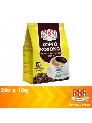 888 Kopi O Kosong 20s x 10g
