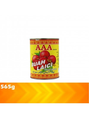 AAA Syrup Whole Lychees 565g [MUST BUY]