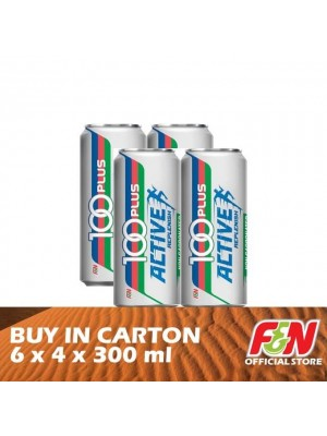 F&N 100 Plus Active Replenish 6 x 4 x 300ml