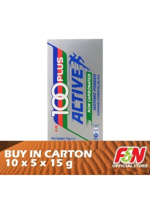 F&N 100 Plus Active Powder 10 x 5 x 15g