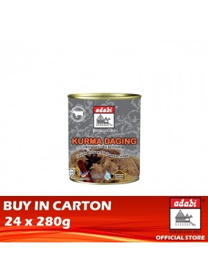 Adabi Kurma Daging Dengan Ubi Kentang 24 x 280g [Covid-19]