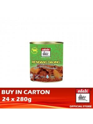 Adabi Rendang Daging Dengan Ubi Kentang 24 x 280g [Essential]