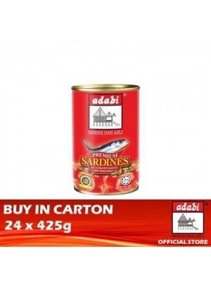 Adabi Sardin in Tomato Sauce 24 x 425g [Essential]