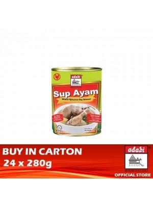 Adabi Sup Ayam 24 x 280g [Essential]