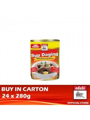 Adabi Sup Daging 24 x 280g