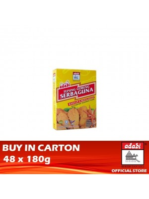 Adabi Tepung Goreng Serbaguna 48 x 180g [Essential]