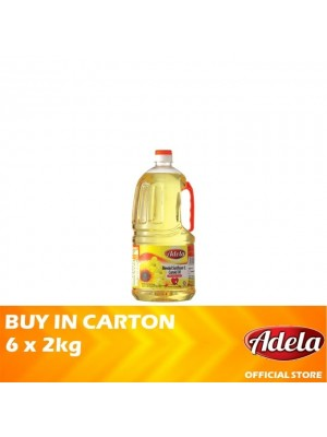 Adela Blended Sunflower & Canola Oil 6 x 2kg