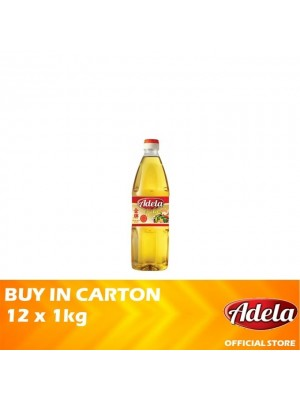 Adela Gold Blended Cooking Oil 12 x 1kg