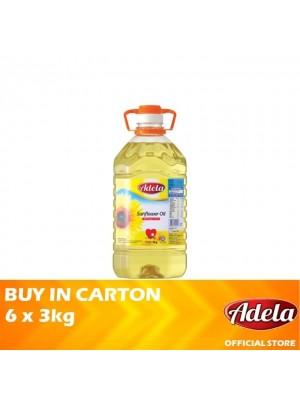 Adela Sunflower Oil 6 x 3kg [Essential]