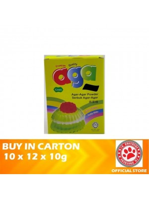 Aga Honey Agar Agar Powder – Green 10 x 12 x 10g