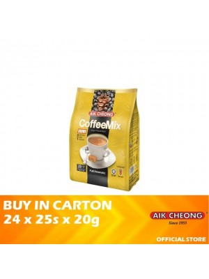 Aik Cheong 3 in 1 Coffee Mix Brown 24 x 25s x 20g