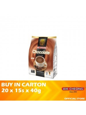 Aik Cheong 3 in 1 Hot Chocolate 20 x 15s x 40g