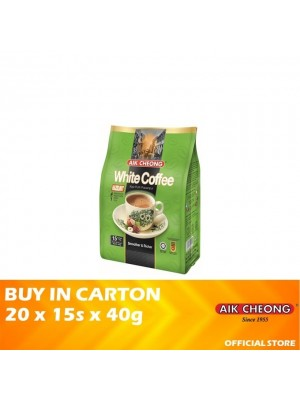 Aik Cheong 4 in 1 White Coffee Tarik Hazelnut 20 x 15s x 40g